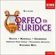 Gluck: Orfeo ed Euridice Baltsa, Marshall 2 CDs w/ booklet EMI Classics