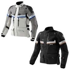 Blousons ajustable en kevlar dos pour motocyclette