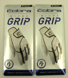2 GLOVES Cobra Puma COBRA Crown C Mens LEFT HAND MICROGRIP Flex Glove pic size