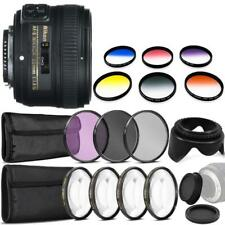 Nikon AF-S NIKKOR 50mm f/1.8G Lens and Accessory Kit For Nikon DSLR Cameras