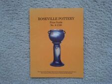 """ROSEVILLE POTTERY PRICE GUIDE -- NO. 8-1190 -- HUXFORD -- """"COLLECTIBLE"""""""