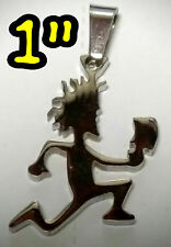 "HATCHETMAN 1"" MIRROR CHARM ABK 316L ICP INSANE CLOWN POSSE TWIZTID  RARE JUGGALO"