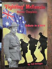 History ANZAC CHAPLAIN AIF 1914-18 GALLIPOLI Lone Pine Somme 4th Battalion