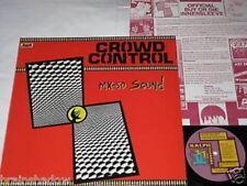 Mx-80 Sound Crowd Control LP ORIG. Ralph Rec. US 1981 rare Garage Rock