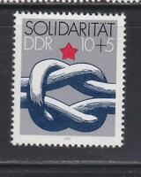 DDR509 - EAST GERMANY DDR 1984 SOLIDARITY KNOT MNH