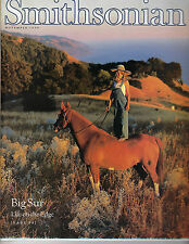 NOVEMBER 1999 SMITHSONIAN MAGAZINE FEATURING BIG SUR ON THE COVER
