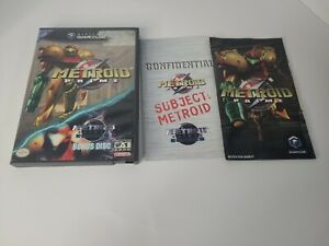 Metroid Prime - GameCube Case, Cover Art, Manual Instruction Booklet- NO GAME