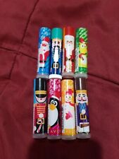LOT OF 8 - AVON HOLIDAY KIDS FLAVORED LIP BALMS - SEALED - FREE SHIPPING