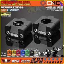 Pro Taper HandleBar Fat Bar Risers Mount Clamp Adapter 7/8 - 1 1/8 Universal