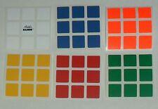 3x3 Rubik's Cube replacement Sticker Set with Original Rubik Logo from Hungary