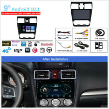 9'' Android 10.1 2+32GB Car Stereo Radio GPS For Subaru Forester 15-18 WRX 16-18