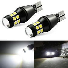 2x T10 921 LED Reverse Backup Light Bulbs 912 6000K White for GMC Ford Chevy US