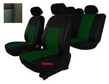 Universel vert/noir éco-cuir Set Complet Housse siege voiture BMW E46/E34/E39