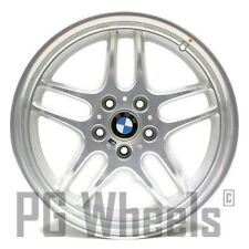 "18"" BMW 740i 750i 1998 1999 2000 2001 FRONT WHEEL OEM 59271 SILVER MACHINED"