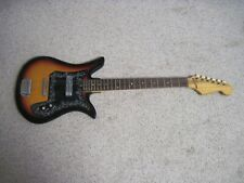 VINTAGE ELECTRIC GUITAR  SOLID BODY SIX STRING WORKS NR