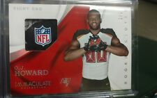 2017 Immaculate O.J Howard Tampa Bay Buccaneers SP Rookie Gloves NFL Relic#1/5