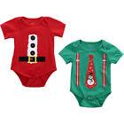 Toddler Newborn Baby Kids Boy Girls Bodysuit Jumpsuit Romper Outfits Clothes