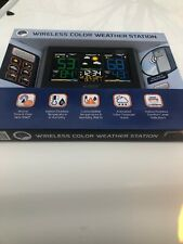 La Crosse Technology C85845 Color Wireless Forecast Station Black