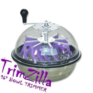 """Trimzilla 16"""" Bowl Leaf Trimmer - Hydroponics"""