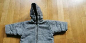 Wollwalk Overall Wollfleece Wolle Winteranzug Schneeanzug Größe 62-68