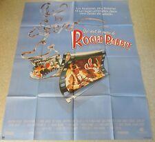 AFFICHE CINEMA 6211 - QUI VEUT LA PEAU DE ROGER RABBIT - ROBERT ZEMECKIS 120/160