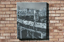 "Iconic NYC Train Graffiti Painting on 24""x30"" Canvas  Stencil Art 