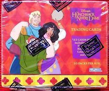 Disney's Hunchback of Notre Dame ~ Sealed Box 20 Packs Trading Cards