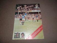 Saints 1980 1981 Official Yearbook Southampton FC Kevin Keegan Alan Ball