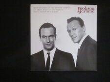 """ROBSON & JEROME - 7"""" Cover - WHAT BECOMES OF THE --( for framing or replacement)"""