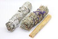 White Sage, Desert Sage & Palo Santo Pack - Vegan Incense Smudge kit