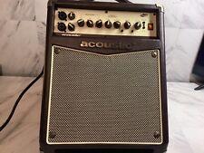 Acoustic A20 20W Acoustic Guitar Amplifier Brown/Tan