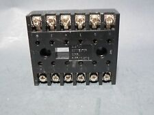 LOT OF 5 CUSTOM CONNECTOR RELAY SD12-PC ELECTRICAL TERMINAL BLOCK 6 GANGS NIB