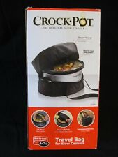 Crock-Pot Travel Thermal Bag for 4-Quart to 7-Quart Slow Cookers NEW in Box