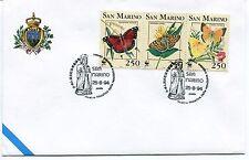 1994-08-25 San Marino mostra filatelica rep. popolare cinese ANNULLO SPECIALE