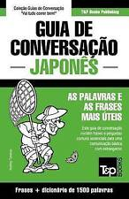 Guia de Conversação Português-Japonês e dicionário conciso 1500 palavras (Portug