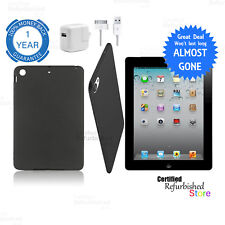 Apple iPad 2nd Generation 16GB Wi-Fi | 9.7 inches | Black | Free Shell & Bundle
