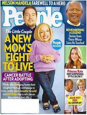 Jolie Pitt Kids People Magazine December 23, 2013 Nelson Mandela Princess Kate