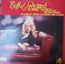 """RONNIE ALDRICH """"Soft & wicked"""" LP"""