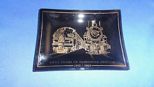 Vintage Western Pacific Railway Tray/Ashtray 50 Year Anniversary of Passengers