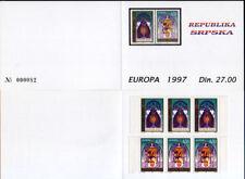 1997 Europa CEPT - Bosnia [Banja L.] - booklet A