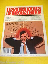 INVESTORS CHRONICLE - MIDDLE MANAGERS - JUNE 4 1993