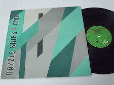 OMD ORCHESTRAL MANOEUVERS IN THE DARK Dazzle Ships - PORTUGAL LP - RARE