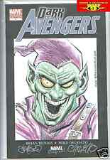 ORIGINAL GREEN GOBLIN SERGIO CARIELLO COMIC ART SKETCH!