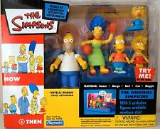 THE SIMPSONS NOW AND THEN. THE ORIGINAL SIMPSONS PLAYSET. PLAYMATES.