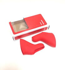 RED SRAM DOUBLE TAP FITS RED FORCE RIVAL & APEX BICYCLE BIKE BRAKE HOODS NEW