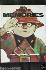 Japan Katsuhiro Otomo: The memory of memories (Art Guide Book)