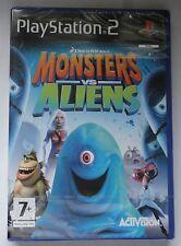 Dreamworks monsters vs aliens le jeu vidéo PS2 neuf et scellé royaume-uni sony!