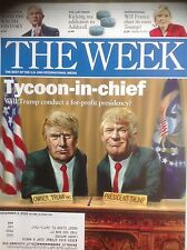 The WEEK December 2, 2016  DONALD TRUMP  Tycoon-in-chief