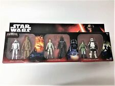 "6pcs/set Star Wars Epic Battles LEIA LUKE SCOUT CHEWBACCA 3.75"" Action figure"
