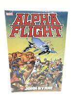 Alpha Flight by John Byrne Omnibus Marvel Comics HC Hard Cover New Sealed $100